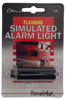 Flashing Simulated Alarm Light