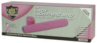 Lady Lightning Rod 2,500,000 Rechargeable Stun Pen Pink