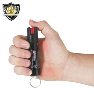 police pepper spray