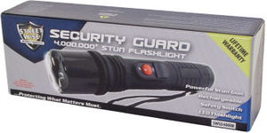 Security Guard 4M Stun Flashlight Rechargeable