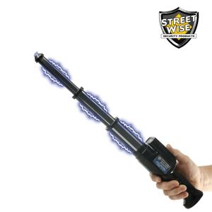 Streetwise 3 Million Expandable Stun Baton with Light