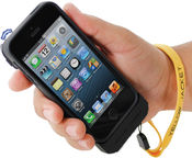 Yellow Jacket iPhone Case Stun Gun w/Rechargeable Battery