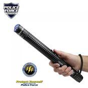 Police Force 12 Million Volt Tactical Stun Baton Flashlight