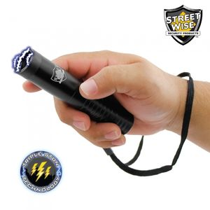 Streetwise Mini Security Guard 7.2M Volt Stun Gun Flashlight