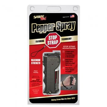 SABRE 1/2 oz Pepper Spray w/Stop Strap