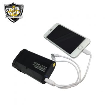 3N1 Charger 28 Million Volt Stun Gun - Power Bank - Flashlight