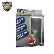 28 Million Volt Stun Gun - Power Bank - Flashlight