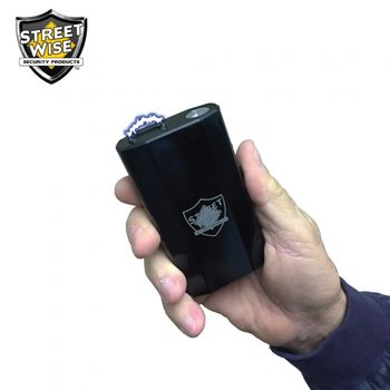 28 Million Volt Stun Gun - Power Bank - Flashlight