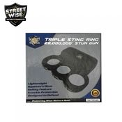 Streetwise TRIPLE Sting Ring 28 Million Volt Stun Gun