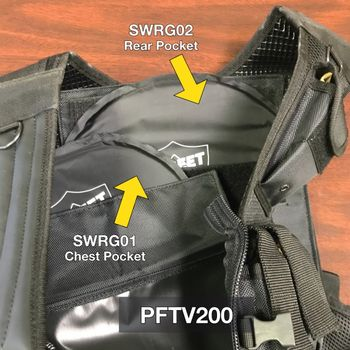 Streetwise Rear Guard Ballistic Shield Backpack Insert