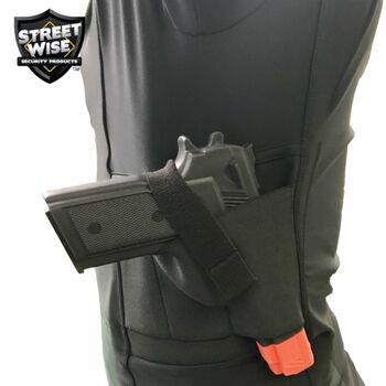 Streetwise Safe-T-Shirt (Ballistic Plate Carrier w/Holster) LARGE