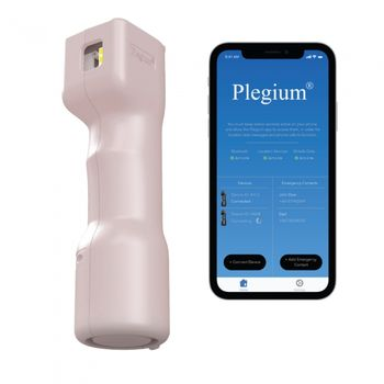 Plegium Smart 5-In-1 Pepper Spray w/Free Smartphone App