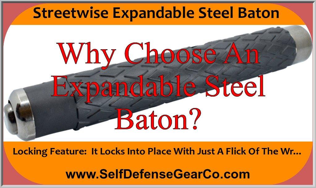 Streetwise Expandable Steel Baton