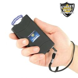 Small Fry 8 Million Stun Gun Rechargeable - BLACK