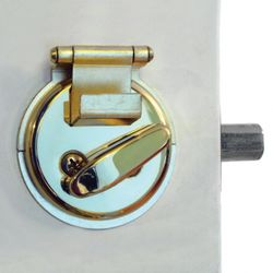 Brass Dead Bolt Secure