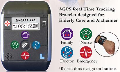 S 911 Gps Bracelet Tracker