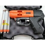 JPX4 4 Shot ORANGE C2 w/Laser Defender Pepper Gun