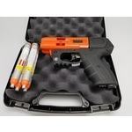 JPX4 4 Shot LE Defender Pepper Gun Orange w/Laser