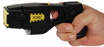 Taser X26C Kit Black w/Black Grip Plates with Lase