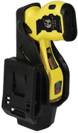 Taser X26C Kit Yellow w/Black Grip Plates with Las
