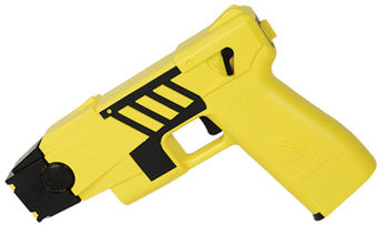 Taser M26C Kit M26C yellow with black labels 4 liv