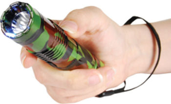 CAMO BASHLITE Stun Gun Flashlite
