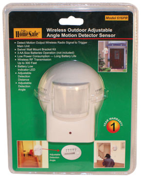 OUTDOOR HOMESAFE WIRELESS HOME SECURITY  MOTION SE