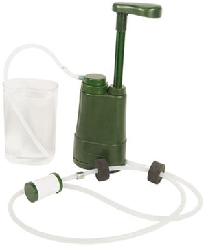 The Portable Mini Water Filter Pump can be used fo