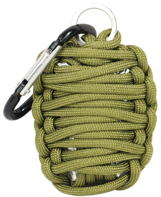 Paracord Grenade Survival Kit The paracord grenade