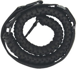 Paracord Rifle Sling is made of 58 feet of 550 par