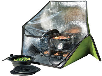 The Solar Oven Bag is built to be highly portable