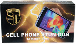 Cell Phone Stun Gun 12000000 volts 49 milliamps
