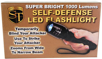 Safety Technology 1000 Lumens LED Self Defense Zoo