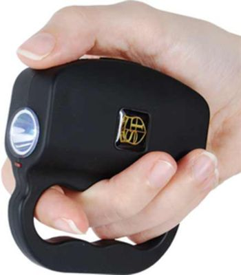 18 Million volt Talon Stun Gun and Flashlight Blac