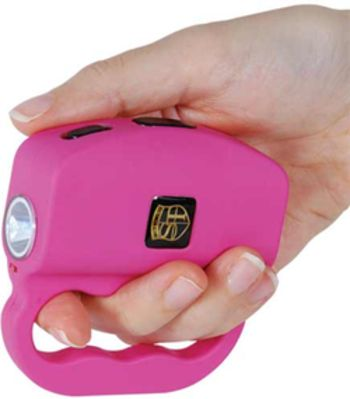 18 Million volt Talon Stun Gun and Flashlight Pink