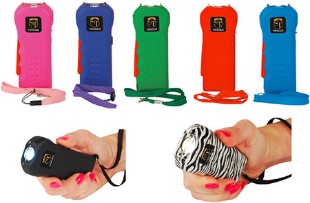 Trigger 18M Volt Stun Gun Flashlight w/Disable Pin
