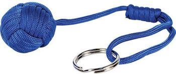 Monkey Fist Self Defense Key Chain - Blue