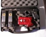 His/Her Black JPX Laser Personal Defense Bundle with Pepperblaster II