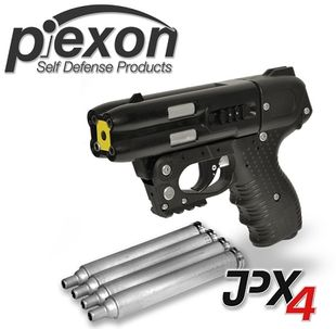 JPX4 Four Shot Pepper Gun w/Laser